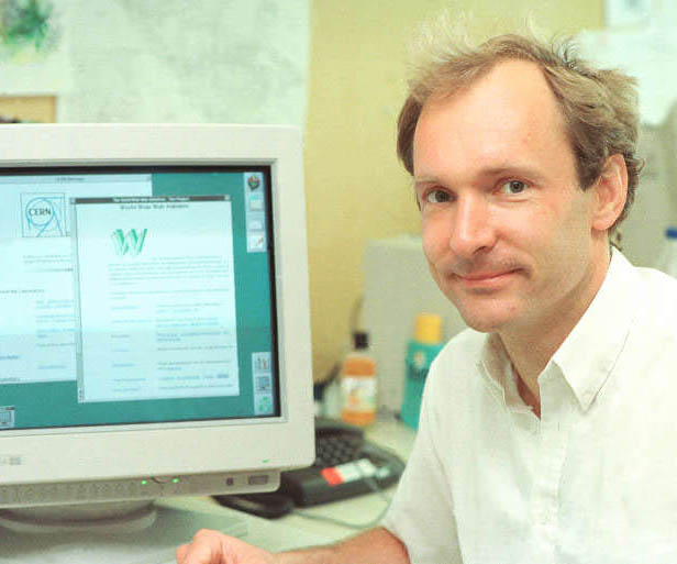 Portrait: Tim Berners-Lee