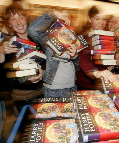 Photograph: Harry Potter fans